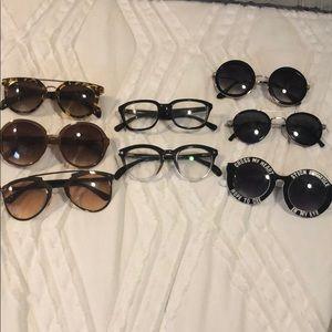 Lot of 8 sunglasses